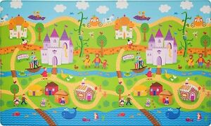 Premium Reversible Soft Play Mat - 'Fairytale Land' Large by Dwinguler Wamberal Gosford Area Preview