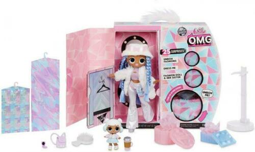 LOL Surprise OMG SNOWLICIOUS Snow ANGEL L.O.L Winter Disco Fashion Doll Wave 2