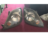 Ford Fiesta Mk6 facelift headlights. Comes with bulbs