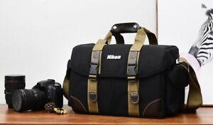 Large camera bag with Nikon logo