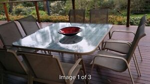 8 piece outdoor dinning setting Camp Hill Brisbane South East Preview