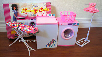NEW GLORIA DOLL HOUSE FURNITURE Laundry PLAYSET (96001)