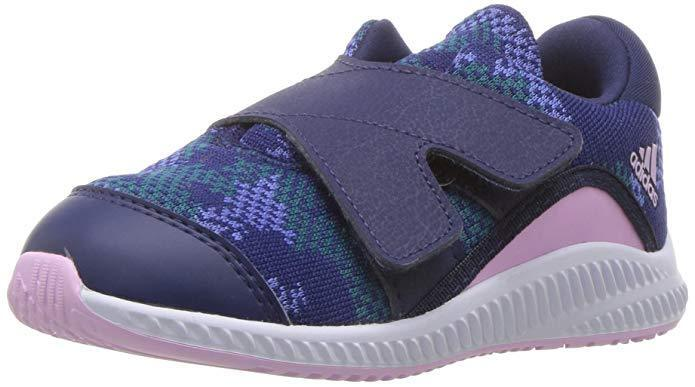 Toddler Adidas Fortarun Running Shoe B41786 Color Dark Blue/Clear Lilac New 1