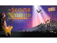 4 x Scouse Nativity Christmas Matinee Tickets Stalls 23/12/17