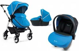 silvercross wayfarer pram and car seat