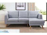 Ewan 3 Seater L-Shaped Corner Sofa