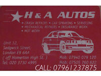 Mobile Mechanic & Car Bodywork & Spray Specialist
