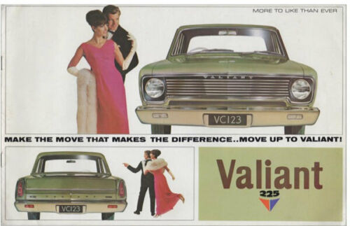 Chrysler VALIANT AP7 Australian car sales brochure 1966-67