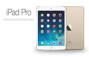 "Apple IPad Pro 9.7"" 128GB Flash Storage With Full Warranty. OpenBox Macleod, (Financing Available 0% Interest)"