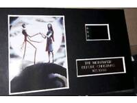 The Nightmare before Christmas Limited Edition film cell