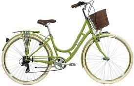 Raleigh Cameo Green Womens 2016 - Hybrid Classic Bike