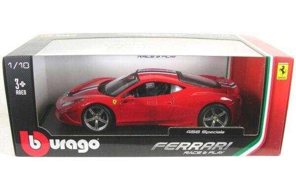 Ferrari 458 Spéciale (red with stripes)