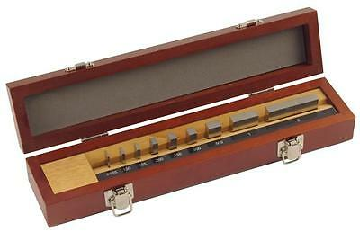 Mitutoyo 516-935-26 9pc Steel Micrometer Inspection Gage Block Set With Optical