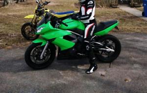 Kawasaki ninja 650r 2009