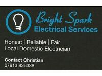 Local electrician - high standards of work at affordable prices.