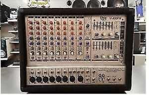 Amplificateur pour mixer Vibe V-400PH 2x200Watts 10 canal stereo