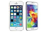 Wanted: Samsung s5 or iPhone 5 and newer!