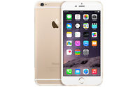 Mint Condition Unlocked Iphone 6 Gold 128GB with  Applecare+