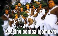 Seeking Oompa Loompa's