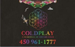 COLDPLAY : AU PARTERRE !!!