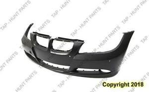 Bumper Front With Park Control Primed-Grey Sedan/Wagon BMW 3-Series 2006-2008