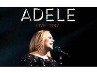 Adele Tickets x 2. Saturday 1st July. Wembley Stadium
