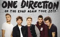 One direction tickets - Aug. 20th Rogers Centre