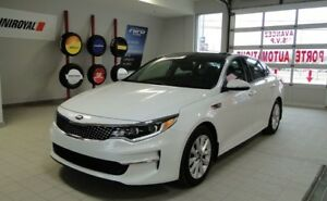 Kia Optima 2016 EX TECH* TOIT PANO*CUIR*NAVI*CAMERA*IMPECCABLE*