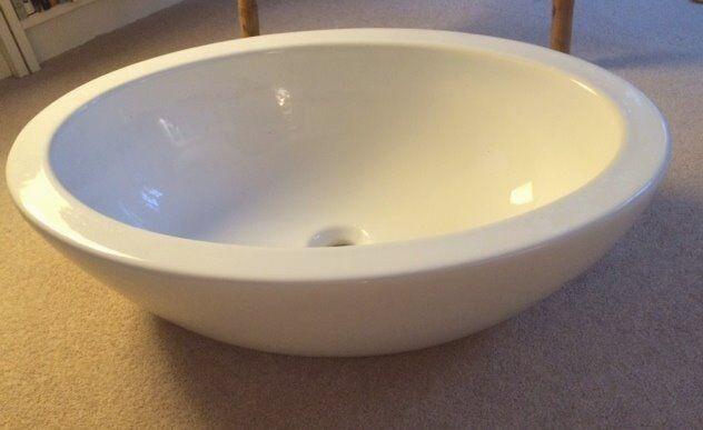 Bathroom Sinks Gumtree ceramic white italian bathroom sink, unused | in golders green