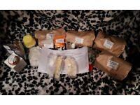 Bath bomb fizzy kit