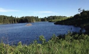 Lake Front Acreage with owner financing