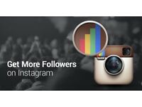 Grow your instagram following for £5 per week!