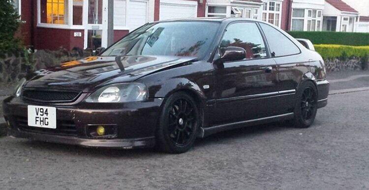 honda civic coupe ej6 em1 b18c4 modified show car in ilford london gumtree. Black Bedroom Furniture Sets. Home Design Ideas
