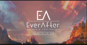 EVER AFTER MUSIC FESTIVAL 3 DAY TICKETS
