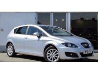 Seat Leon 2.0l Diesel .Silver with black cloth interior ! Excellent condition .