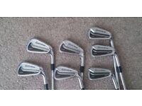 taylormade tour prefered cb 4-pw + tm 54 wedge