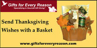 Thanksgiving and Halloween Gift Baskets
