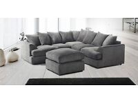 L1VER-P00L DUAL ARM CORNER SOFA WITH ARMREST ON BOTH SIDES - FOOTSTOOL AND 3 2 SEATERS AVAILABLE
