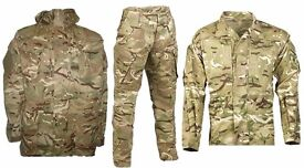Army Camouflage Jacket Trousers and Shirt £50