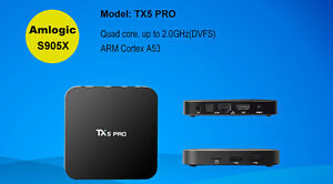 Android TV Box with Kodi!  Quad-core, Android 6.0!