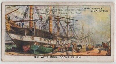 West India Docks 1830 Isle of Dogs London England  80+ Y/O Trade (India Docks)