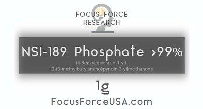 1g-nsi-189 Phosphate 99 Pure Bulk Nootropic Absorbs More Readily Than Freebase