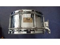 "Pearl Free Floating Steel Snare 14"" x 6.5"""