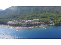 Holiday to turkey - fullly inclusive - thomas cook - Sentido orka lotus - beach 7 days