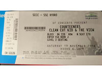 COURTEENERS (with support) - Glasgow SSE Hydro, 19th November 2016.