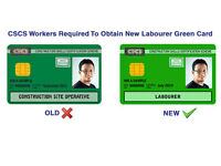 CSCS Card (New Green Card for Labourers) – £85 all inc – 1 Day Training - Level 1 Health & Safety