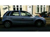 2004 Silver Vauxhall Corsa- long MOT- New tyres- drives great
