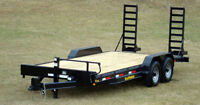 2012 16x7 7 tonne equipment trailer - Like new condition