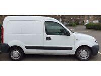 white Nissan KUBISTAR 2007 van - Good Condition Van at Good Price