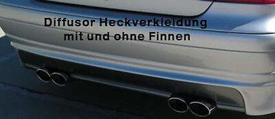 Mercedes CLK W208 Diffusor Dynamik für Serienstoßstange Ausschnitt links